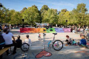 MediaTrike Fesitval 2019 auf dem Bassin-Platz