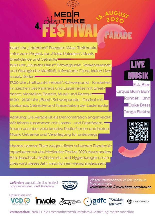 MediaTrike Festival 2020 Programm